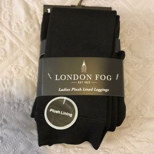 🆕List! London Fog Plush Lined Leggings S/M (NWT)